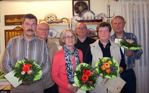 Foto der langjährigen Mitglieder