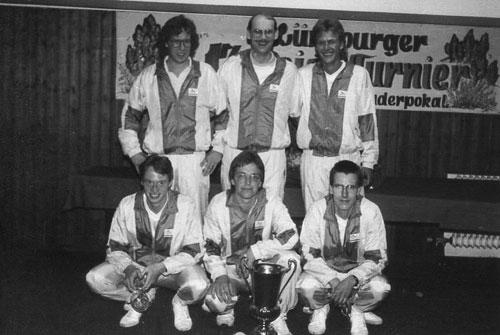 Turniersieger 1988 FC St. Pauli