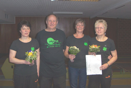 v. l. Anni Unger, Bodo Köllmann, Irmtraud Dietrich, Monika Höhn