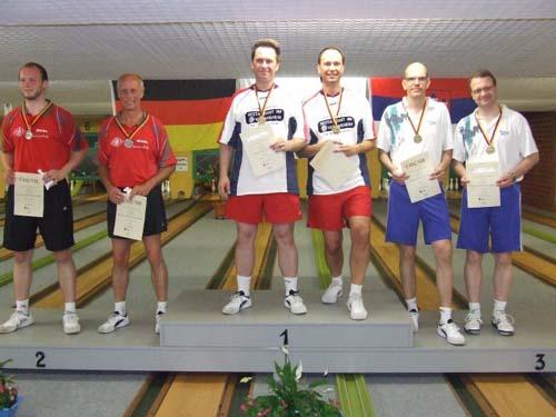 2. M. Buschbeck / H.-P. Buschbeck - 1. K. Ludorf / A. Eggers - 3. B. Maashöfer / R. Schmidt