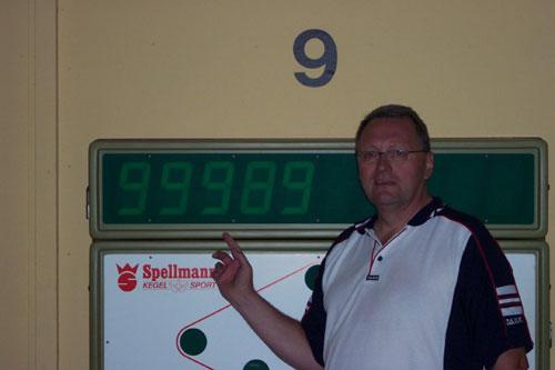 Joachim Müller Traumkombination im Stechen um Platz 3
