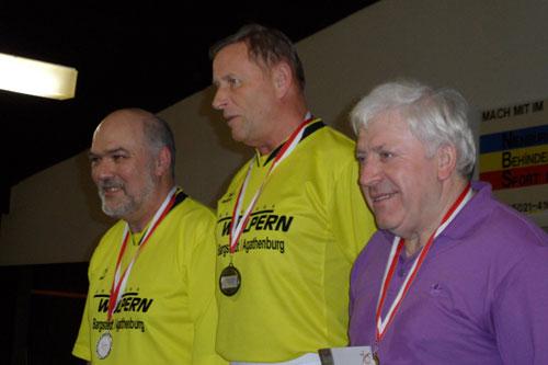 v.l. Uwe Tiedemann,  Werner Fahrenkrug,  Rainhard Macke