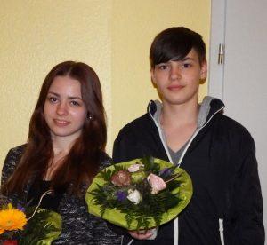 Vivien und Leon Höltig